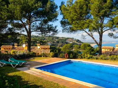 Photo for Nice semi-detached house with fantastic views situated in the area of Sa Riera