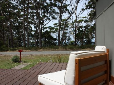 Photo for Ocean View Beach House across from Flat Rock Beach reserve.