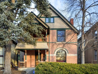 Photo for Beautiful Victorian Home Historical Landmark. Downtown Denver, walk 2 everything