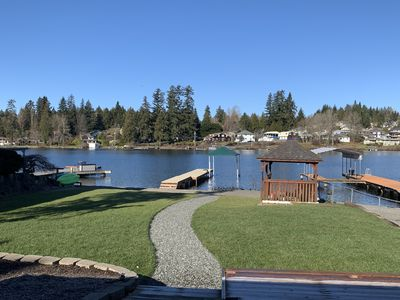 Photo for 4 BDR/2 BA Waterfront Home  located on beautiful Lake Stevens.
