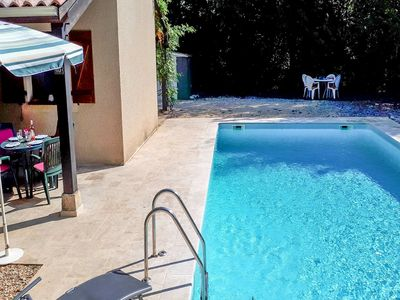 Photo for Cosy gite with secluded garden, private swimming pool in beautiful surroundings.