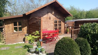 Photo for 'Monktonmead Lodge' with private indoor pool. Secluded location, near to Ryde.