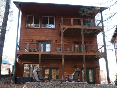 Photo for Brand new, action packed, spacious cabin, close to downtown Gatlinburg