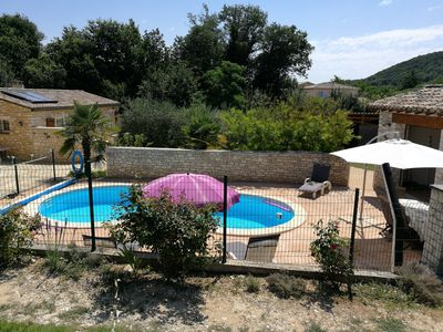Photo for Charming house with swimming pool near St Martin d'Ardèche
