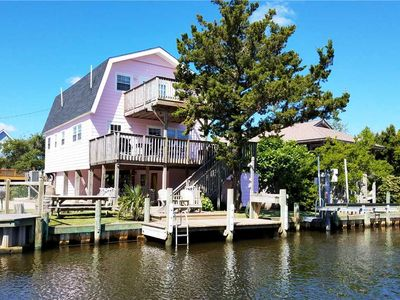 Photo for Livin' Outta Line:  Canal front home with private dock, sunrise views.