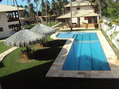 Photo for Exclusive Bungalow with 3 air-conditioned suites, pool, in Flecheiras Beach - C