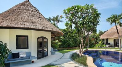 Photo for Spacious 3 BR Luxury Traditional Balinese Villa in Seminyak, Near Shop & Resto