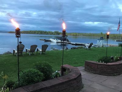 Private lake-front, 2 bedrooms, year-round cottage on Lake Champlain