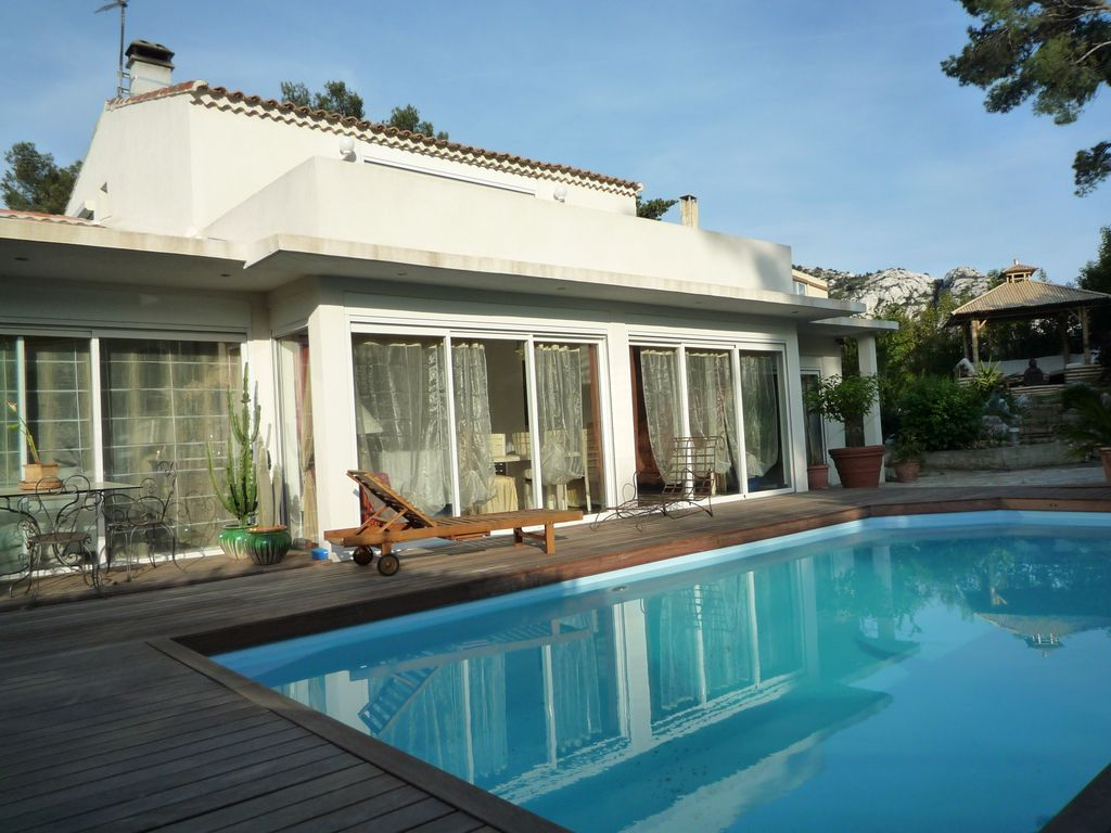 Villa contemporaine avec piscines marseille 1001741 - Amenagement piscine contemporaine marseille ...