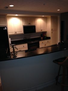 High end appliances and finishes in the kitchen