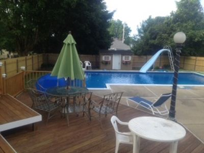 Photo for Great Newport Summer vacation home with Inground Pool