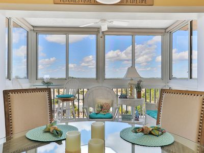 Photo for Gulf front condo w/screened-in balcony, ocean views, and shared pool