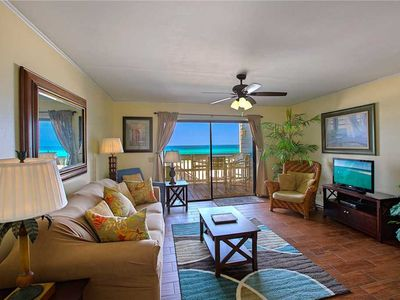 Photo for Shoreline Villas 9 - Gulf Front! Panama City Beach! Seasonal Guests Welcome!