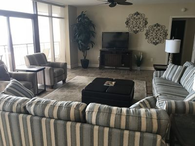 Photo for 5BR Oceanfront Condo with Award Winning Resort Amenities --2.5 acre water park!