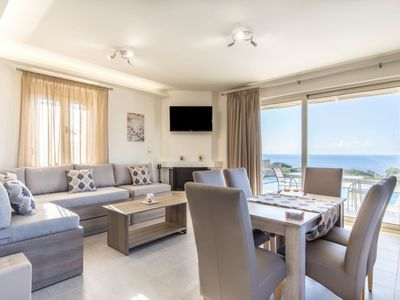 Photo for Vacation home Thea in Triopetra, Rethymnon - 8 persons, 3 bedrooms