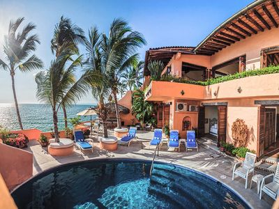 Photo for BEACFRONT MEXICAN VILLA