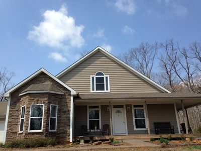 Photo for Lovely Home In Tryon On A 10 Acre Horse Farm In The Heart Of Horse Country.