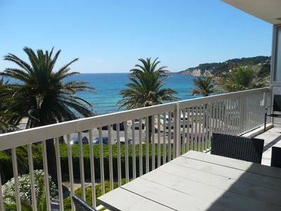 Photo for Beautiful apartment type 4 with terrace and panoramic sea view