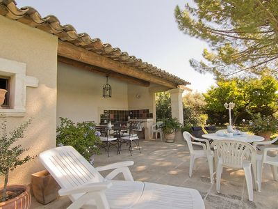 Photo for House 44 m from the center of Villelaure with Parking, Washing machine, Pool, Terrace (103153)