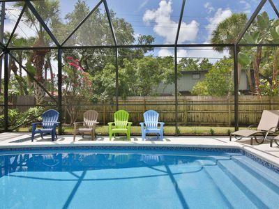 Photo for Fido Friendly, Saltwater Pool, Only 1 mile to SK Beach, Close to the Village, Shops and Restaurants