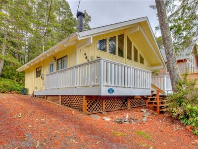 Photo for Two-Bedroom Manzanita Chalet with Sleeping Loft is a Stroll to the Beach