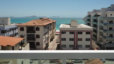 Photo for Cozy apt of bedroom and living room with lovely sea view, with Wifi and Sky.