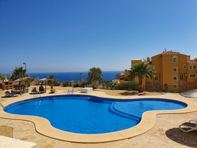 Photo for Holiday Jazmines Apartment with pool and sea view