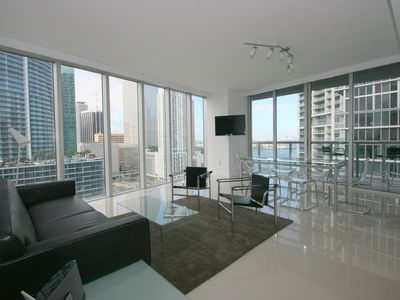 Photo for Cool,clean,chic waterfront condo at the Icon Brickell W Hotel Downtown