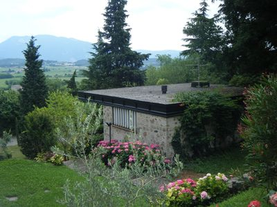 Photo for Delightful detached house surrounded by a beautiful park near Lake Garda