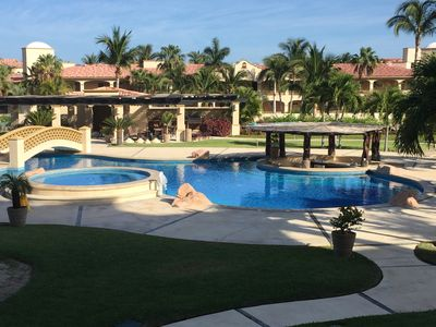 Photo for CHRISTMAS SPECIAL - GROUND FLOOR UNIT OVERLOOKING POOL