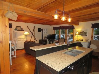 Open concept main floor, great for social gatherings.
