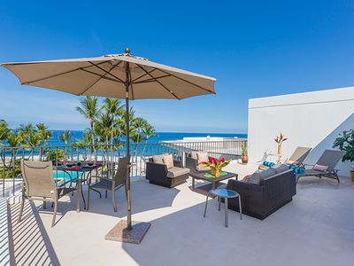Photo for Direct Oceanfront Condo with full resort amenities *WiFi, A/C, Private Lanai* Perfect for Couples!