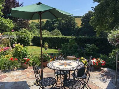 Photo for Robins Cottage with magical views across the upper reaches of the Fal estuary.