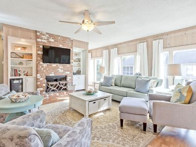 Pet Friendly Townhome Less Than 50 Yards to Beach