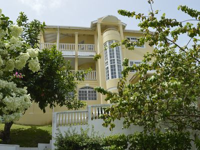 Photo for Luxury Villa with spectaular views of Rodney Bay