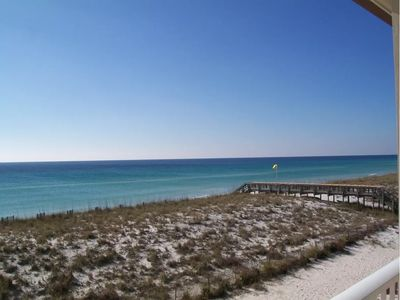 Photo for Gulf front with pool..you can't get any closer to the water than this!