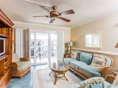 Photo for St Simons Oceanfront Condominium Great for Small Families with Pool, Beach Access, Tennis