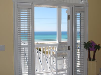 Photo for Hear the ocean waves and enjoy gulf views right from your deck!