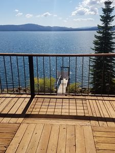 Photo for lake-front cabin, beautiful view!
