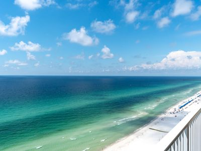 Photo for 2ND NEWEST BEACHFRONT CONDO IN PCB! (100% NO SMOKING)