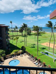 Photo for Awesome Newly Renovated Top Floor Unit with Amazing Views of Ocean and Pools