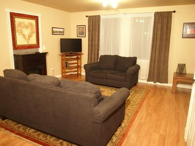Photo for Spacious 2 Bedroom Walk-out Suite on Birch Hill Trails