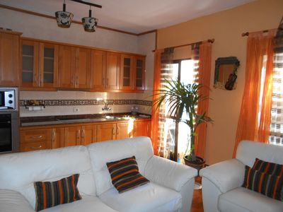 Photo for Central apartment with two bedrooms and two bathrooms.