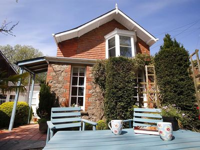 Photo for The School House is lovely at any time of year. In a fabulous location overlooking the sea at Three