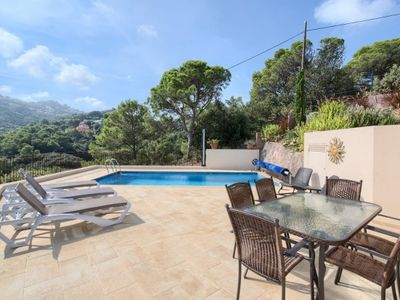 Photo for Begur Villa, Sleeps 6 with Pool, Air Con and WiFi