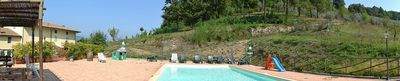Photo for 3 bedroom Villa, sleeps 8 in La Vergine with Pool and WiFi