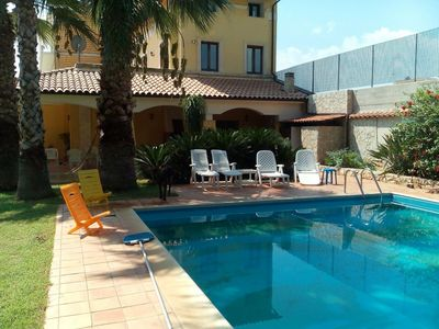 Photo for Villa GABRY with private pool a few steps from Syracuse