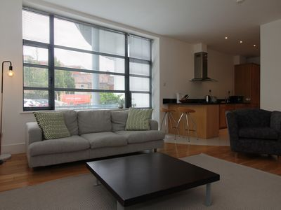 Photo for The Warehouse - Spacious & Modern Loft Apartment - Apartment for 2 people in Dublin