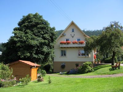 Photo for Cozy apartment in the Murg Valley, 9 km from Baiersbronn