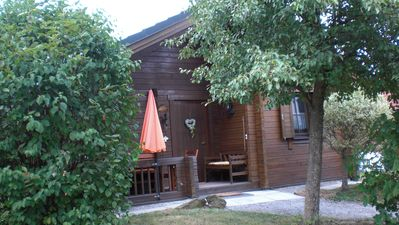 Photo for Recovery in the wood block holiday house with 2 bedrooms up to 5 people